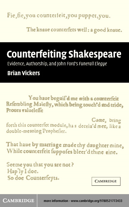 �Counterfeiting' Shakespeare