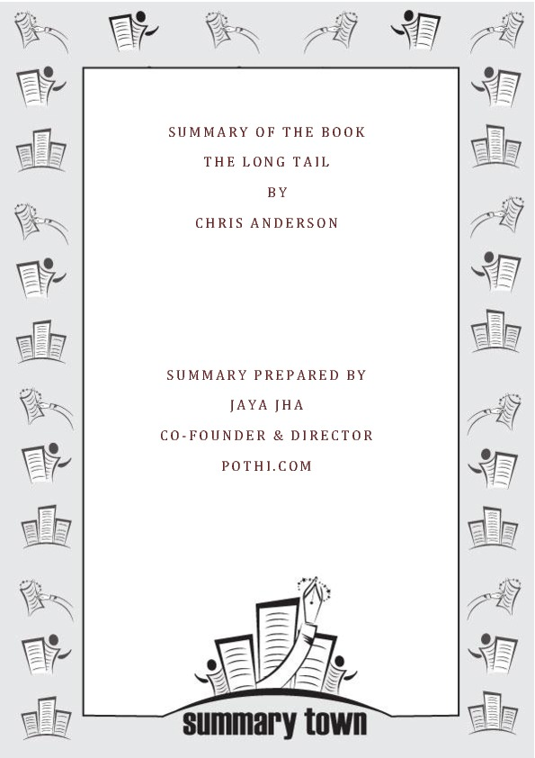 Summary of the book The Long Tail by Chris Anderson