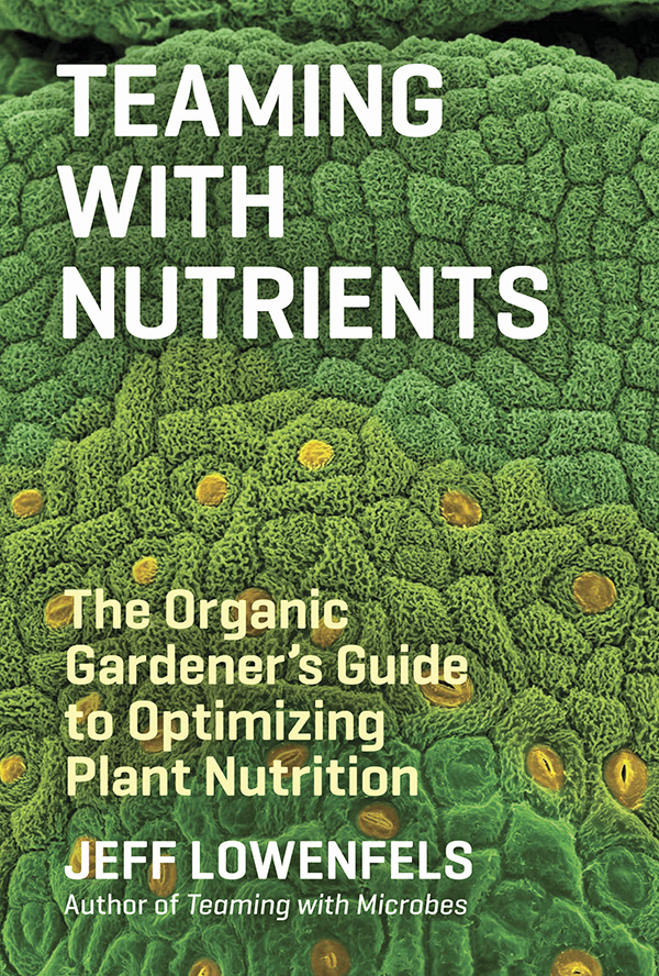 Book Cover: Teaming with Nutrients