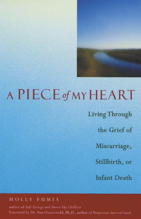 A Piece of My Heart: Living Through the Grief of Miscarriage Stillbirth or Infant Death
