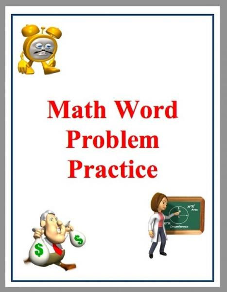 Math Word Problem Practice: Based on Common Core By: Jason Elliott