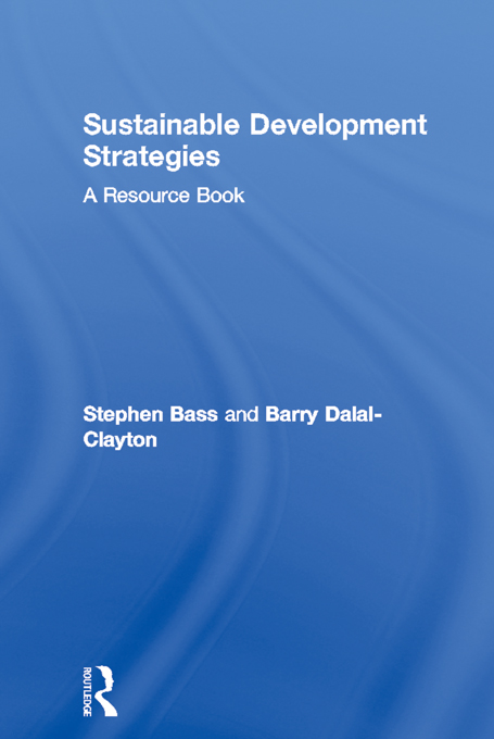 Sustainable Development Strategies A Resource Book