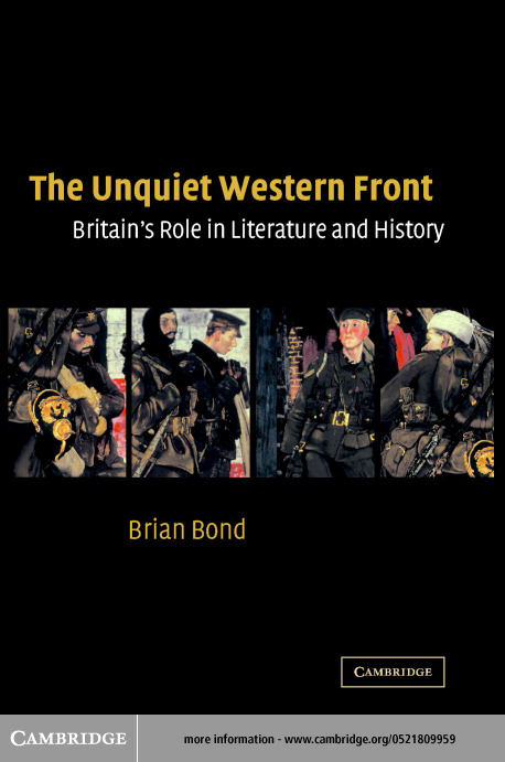 The Unquiet Western Front By: Bond, Brian