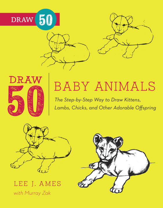 Draw 50 Baby Animals By: Lee J. Ames,Murray Zak