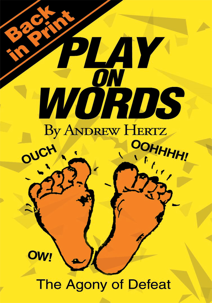 Play on Words By: Andrew Hertz