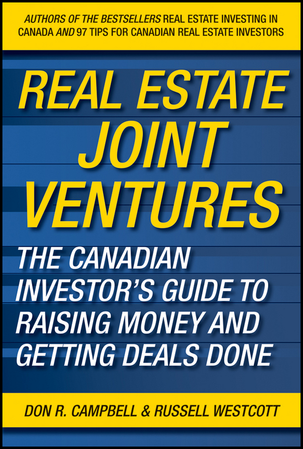 Real Estate Joint Ventures By: Don R. Campbell,Russell Westcott