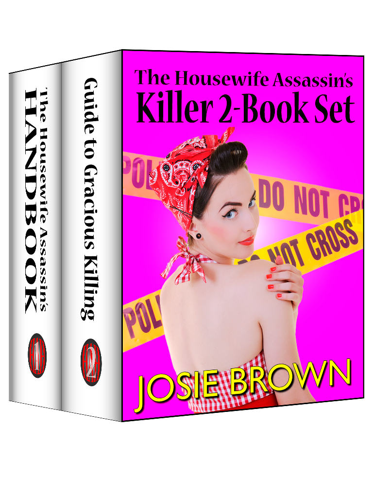 The Housewife Assassin's Killer 2-Book Set (Humorous Romantic Mystery Series)