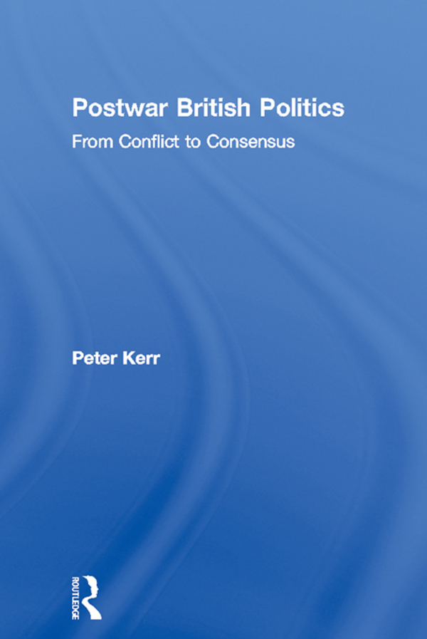 Postwar British Politics