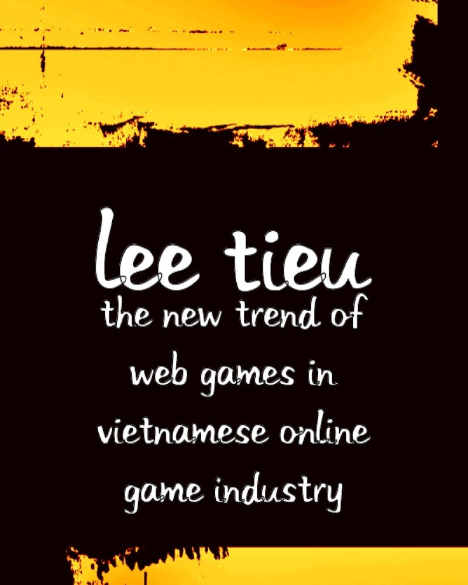 The New Trend of Web Games In Vietnamese Online Game Industry