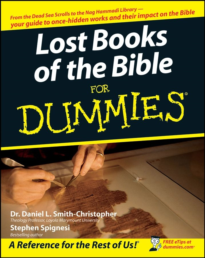 Lost Books of the Bible For Dummies By: Daniel L. Smith-Christopher,Spignesi