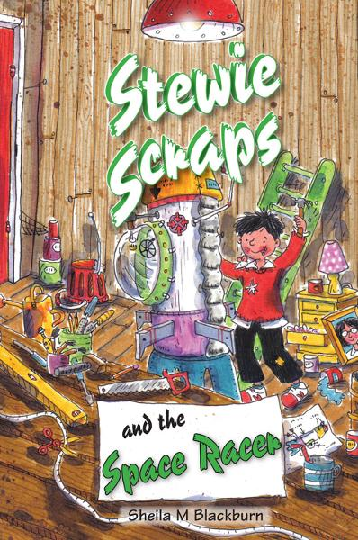 Stewie Scraps and the Space Racer By: Sheila Blackburn