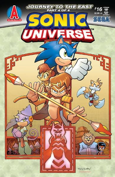 Sonic Universe #16 By: Ian Flynn, Tracy Yardley!
