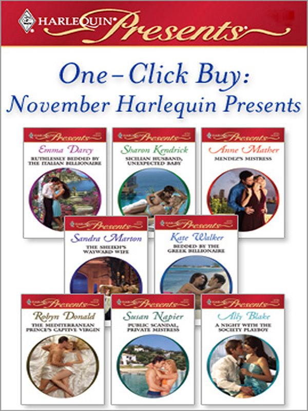 One-Click Buy: November Harlequin Presents