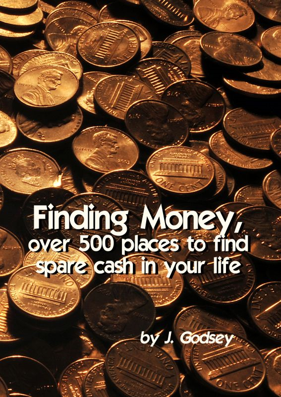 Finding Money, over 500 places to find spare cash in your life.