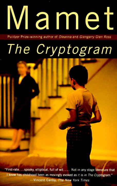 The Cryptogram By: David Mamet