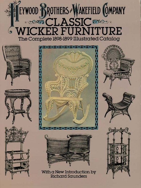 Classic Wicker Furniture By: Heywood Brothers