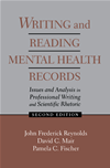 Writing And Reading Mental Health Records