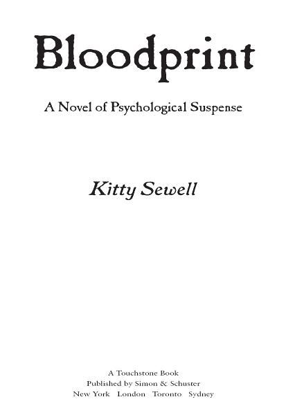 Bloodprint By: Kitty Sewell