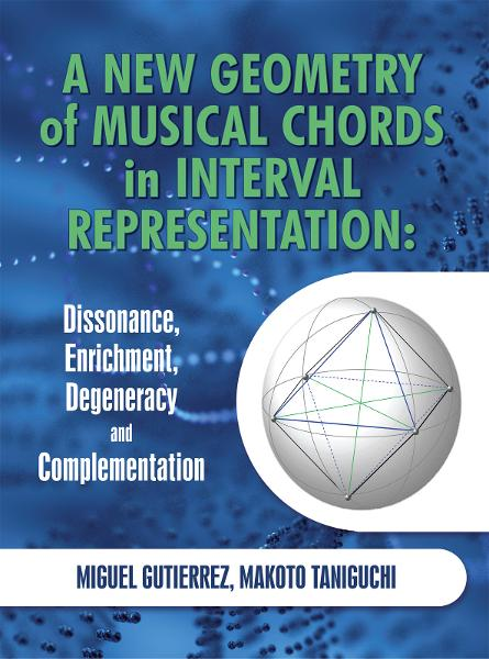 A New Geometry of Musical Chords in Interval Representation: Dissonance, Enrichment, Degeneracy and Complementation By: Miguel Gutierrez, Makoto Taniguchi