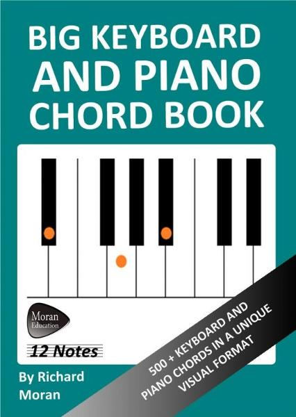 Big Keyboard and Piano Chord Book: 500+ Keyboard and Piano Chords in a Unique Visual Format By: Richard Moran