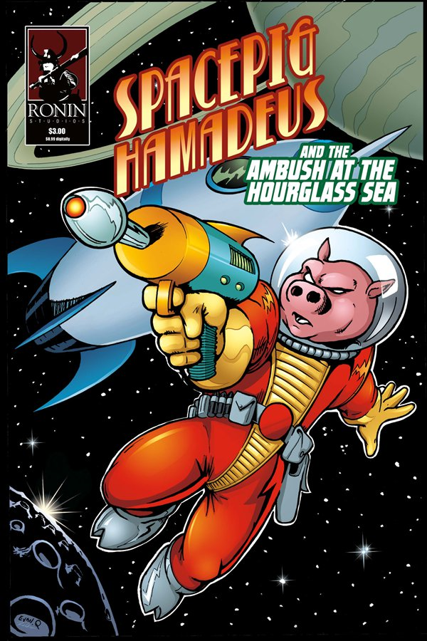 Spacepig Hamadeus #0