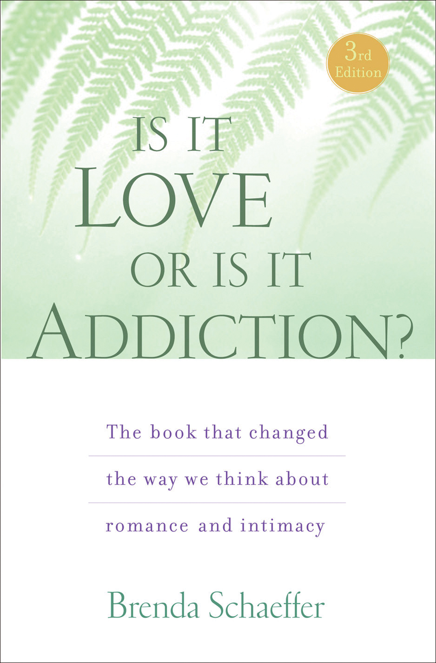 Is It Love or Is It Addiction By: Brenda Schaeffer D.Min, M.A.L.P., C.A.S.