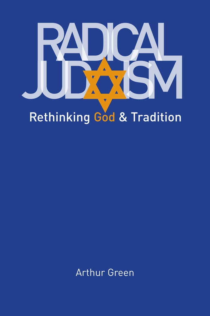 Radical Judaism