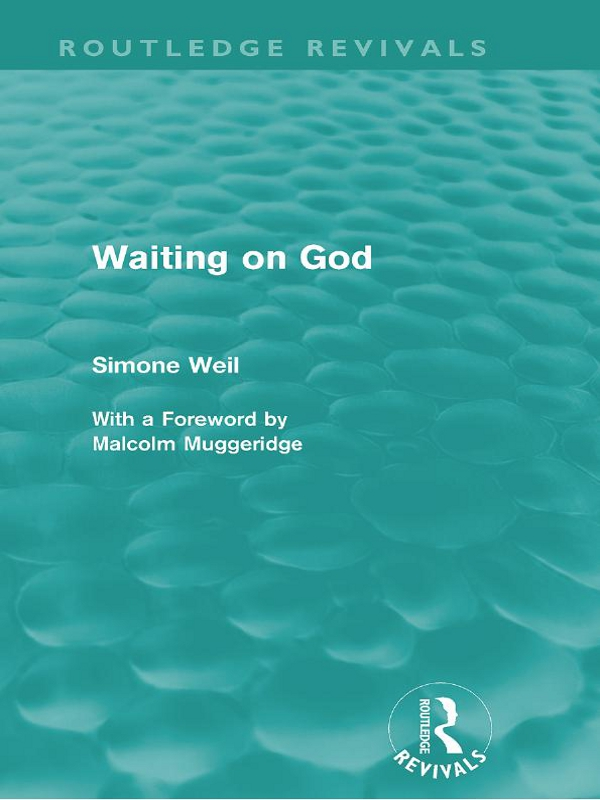 Waiting on God (Routledge Revivals)