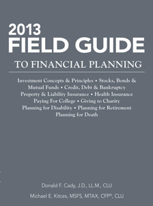 2013 Field Guide to Financial Planning