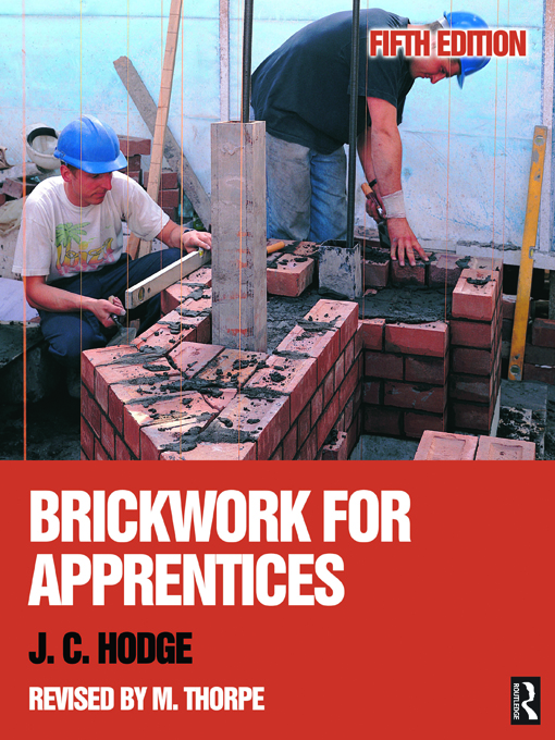 Brickwork for Apprentices