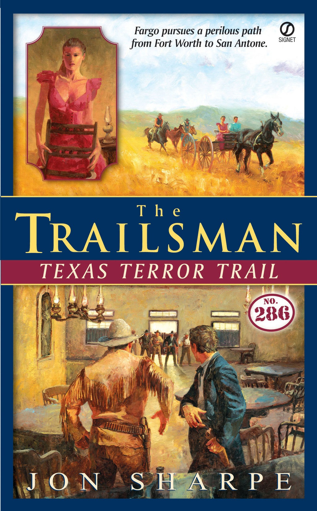 The Trailsman #286 By: Jon Sharpe