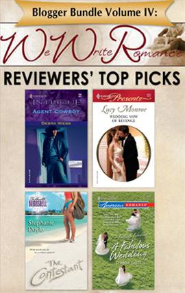 Blogger Bundle Volume IV: WeWriteRomance.com's Reviewers' Top Picks
