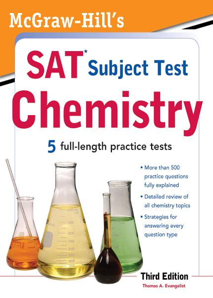 McGraw-Hill's SAT Subject Test Chemistry, 3rd Edition