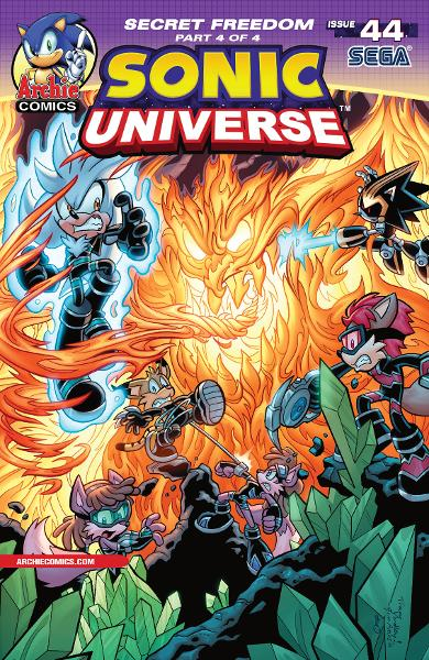 Sonic Universe #44 By: Ian Flynn, Tracy Yardley, Jim Amash, Steve Downer