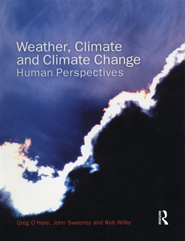 Weather,  Climate and Climate Change Human Perspectives