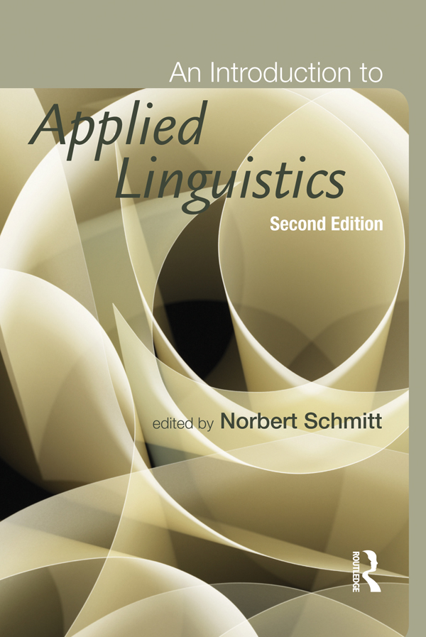 An Introduction to Applied Linguistics,  Second Edition