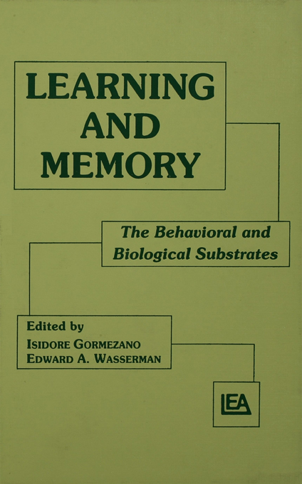 Learning and Memory The Behavioral and Biological Substrates