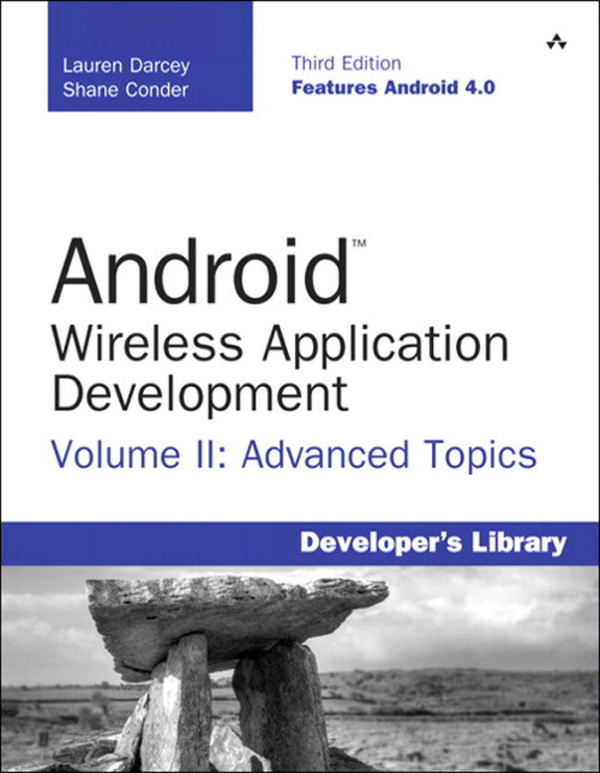 Android Wireless Application Development Volume II