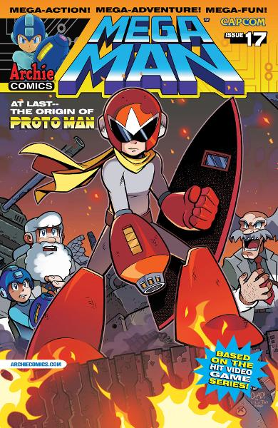 Mega Man #17 By: Ian Flynn, Chad Thomas, Gary Martin, Matt Herms, John Workman, Jamal Peppers, Art Lyon