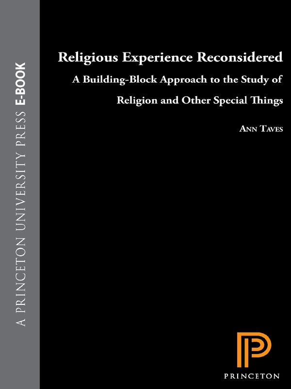 Religious Experience Reconsidered By: Ann Taves