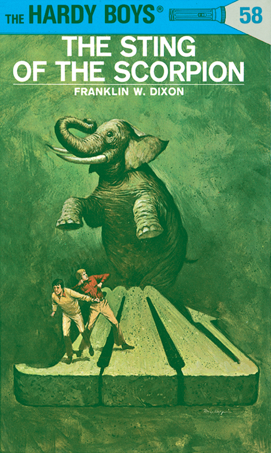 Hardy Boys 58: The Sting of the Scorpion By: Franklin W. Dixon