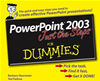 Powerpoint 2003 Just The Steps For Dummies: