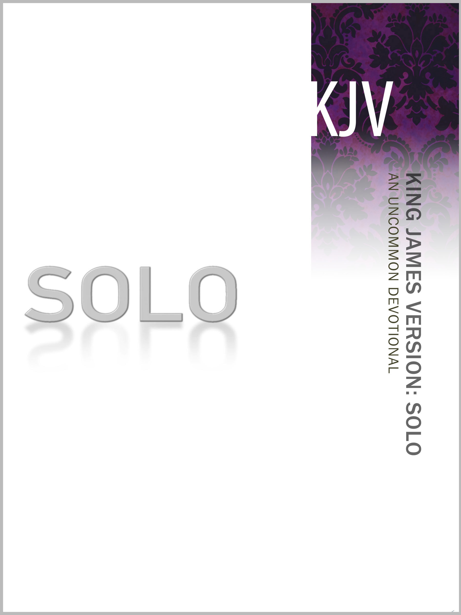 King James Version (KJV) SOLO New Testament