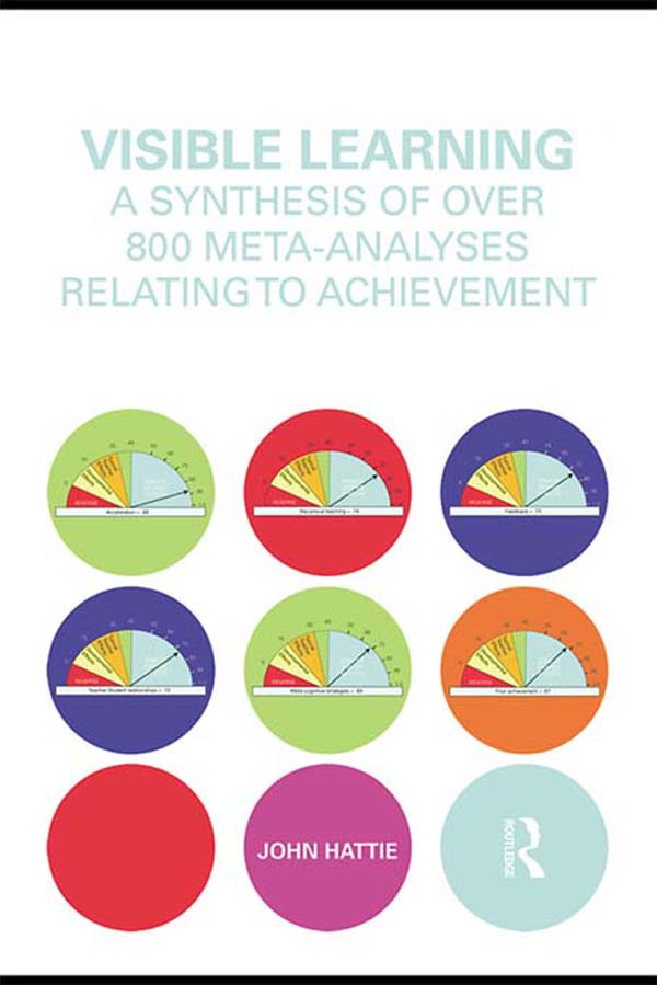 Visible Learning A Synthesis of Over 800 Meta-Analyses Relating to Achievement