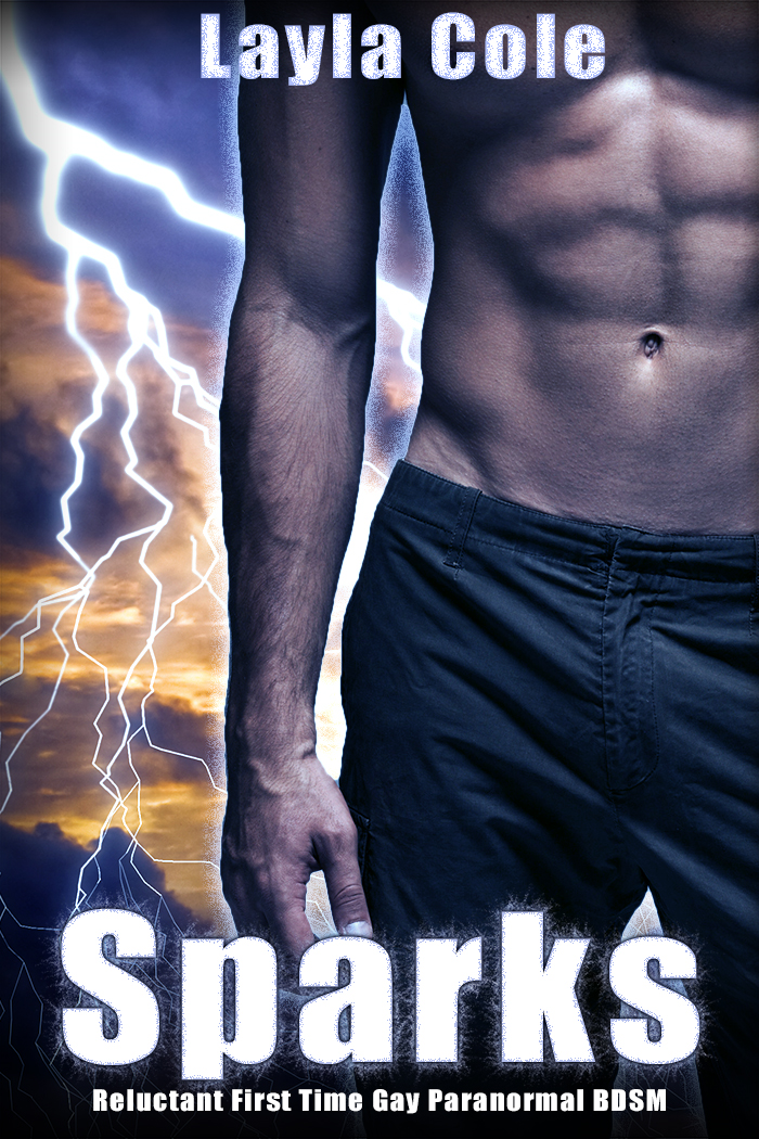Sparks (Reluctant First Time Gay Paranormal BDSM)