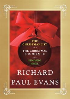 Richard Paul Evans Ebook Christmas Set Christmas List, Christmas Box Miracle, Finding Noel