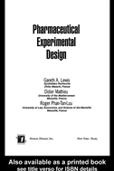 Pharmaceutical Experimental Design: