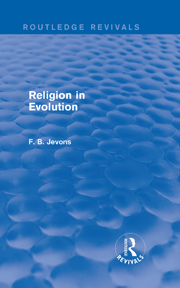 Religion in Evolution