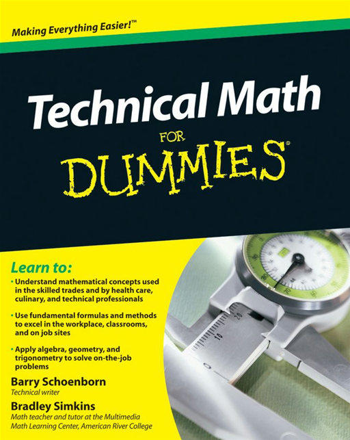 Technical Math For Dummies
