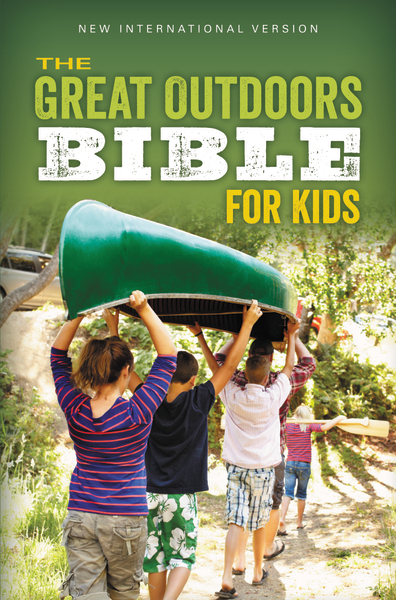 The Great Outdoors Bible for Kids, NIV By: ZonderKidz